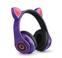 Мода Роскошная светящаяся Bluetooth-гарнитура Cat Bluetooth-гарнитура B39 против F9 B10 для iPhone 11 12 Универсальный