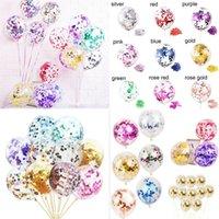 Sequins Balon Doğum Balonlar Parti 12 İnç Sihirli Güç Kağıt Yazısı Beş Sivri Yıldız Moda 0 23yc F2 Malzemeleri