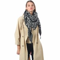 Spring Winter Women Scarf Cashmere Warm Shawls Neck Bandana Lady Wrap 140x140x190cm Thick Print Scarves