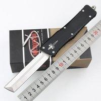 MICROTECH Automation Messer Interceptor Messer Bowie / Höllenhund Tanto / Spear Punkt D2 Messer Stahlklinge taktisches Messer UT Messer