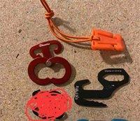 ensemble mousqueton (5 mousquetons dans le sac avec le logo) 1500set par l'intermédiaire de l'océan et via 1500set
