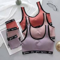 Gym Vêtements Qiwn Coton Femme Lingerie Girl Braalette Brame Souffeuse Souffeuse Sous-vêtements Femmes Push Up Femme Wirefree Ropa Intérieur Langerie Bras