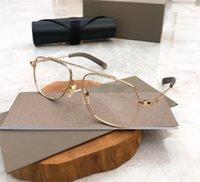 DLX105 جديد الرجال النساء الكلاسيكية النظارات البصرية مستطيل التيتانيوم لوح إطار نظارات بسيطة جو النظارات النظارات الساخن بيع مع حالة ووتش