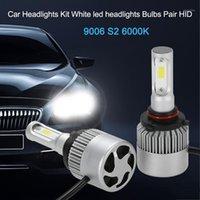 Kit di fari dell'automobile per H1 S2 H3 H4 H7 9006 500W 80000LM 6000K White LED fari BULB BULB COPPIA HID1