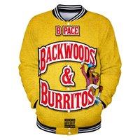 Backwoods Bal Berry 3D Baskı Zip Up Beyzbol Ceket Erkekler Bombacı Ceket Harajuku Tişörtü Kış Moda Hip Hop Komik Hoodie
