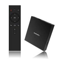 DERNIÈRE KM9 PRO Android 9.0 TV BOX AMLOGIC S905X2 Quad-Core 2GB / 16 Go intégré à 2.4GWIFIBT4.0 Lecteur multimédia intelligent BB