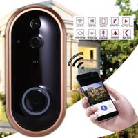 Smart Wifi Tür Ring Telefon Video Türklingel Wi-Fi Türklingel-Kamera für Wohnungen IR Alarm Wireless-Sicherheitskamera wasserdicht1