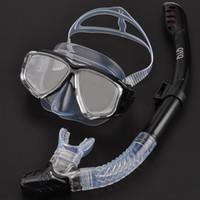 Masque de plongée de plongée de plongée de plongée de plongée pour adultes pour la plongée pour la plongée à la baignade, Mascara Mergulho Scuba Kit de baignade