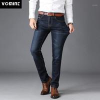 Vomint Herren Jenas Business Classic Leisure Basic Styles Männer Jeans Gerade Hosen Hohe Qualität Heißer Verkauf Plus Größe 40 (Kein Gürtel) 1