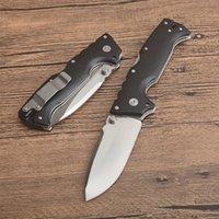 AD-10 Тактический складной нож S35VN Point Drop Point Blade Black Black G10 + Листовая ручка из нержавеющей стали с розничной коробкой