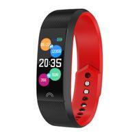 Neueste F6 Smart Armband Herzfrequenzmonitor Waterproof Fitness Tracker Bluetooth Uhrenband für Android ios Frauen Männer Armband 10pcs / lot