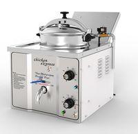 16L Commercial Desktop Electric Tiefdruck Fritteuse Small Mini Chicken Broaster Machine KFC Hühnerbratmaschine