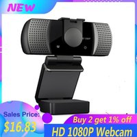 Webcams Full HD Webcam 1080 P grandangolare USB USB USB-GRANDE DRIVE-GRATIS con microfono CamaraWeb Laptop online Teching Conference in diretta streaming1