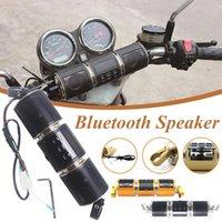 I lettori MP4 Moto Bluetooth MP3 Auto Audio Audio Lettore musicale Impermeabile Anti-Theft FM Radio Sound System Bike 1p2