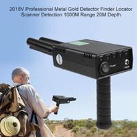 Profissional Metal Detector Detector Detector Long Range Diamante Gold 1000m Revendedor 20M Profundidade 100-240V UE Plug Underground Detector1