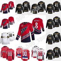 Washington Capitals 2021 Reverse Retro Hockey Trikots John Carlson Ilya Kovalchuk Nicklas Backstrom Jakub Vrana Richard Panik Custom Stitche