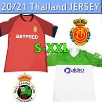 Vacar 2019 2020 RCD Mallorca Los Bermellones Camisetas de fútbol 19 20 Racing de Santander Jerseys Soccer Jerseys Hombres Uomo Camicegli autori