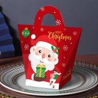 Vigilia di Natale Confezione regalo di Babbo Natale Papercard partito presente favorevoli alla commissione di Red Box Pacchetto Capodanno Scatole