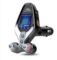 BT26 FM المغير مرسل بلوتوث 5.0 راديو FM QC3.0 USB شاحن سيارة حر اليدين عدة السيارة اللاسلكية يزرية FM TRANSMITER