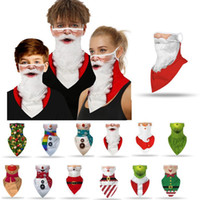 Kids Chirstmas Party Mask Outdoor Visor Neck Gaiter Scarves ...
