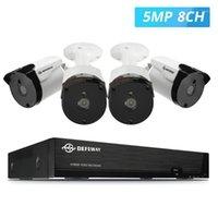Sistemler Göz Bakımı 8CH HD 5.0MP Video Gözetim H.265 + CCTV Ev Güvenlik Kamera Sistemi ile 4 adet IP66 Su Geçirmez IR Gece Görüş1