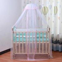 Baby Moskitonetz Faltbare Königsgericht Prinzessin niedlich Moskito Bett Cano Cover mit Spitze für Baby Safety1