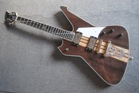 مخصص الرقبة من خلال الجسم 6 سلاسل الغيتار الكهربائي النشطة قبول الغيتار باس التخصيص السلبي بيك آب EMS شحن مجاني