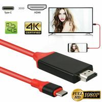 USB 3.1 Tipo C a Adaptador AV digital 1080p con cable de 2 m Vedio Hub para Mackbook