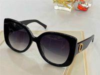 4387 Nuevas gafas de sol de moda de alta gama Gafas de sol con encanto ojos hechos de placa Marco completo Gafas de sol UV-400 Caja gratis de alta calidad