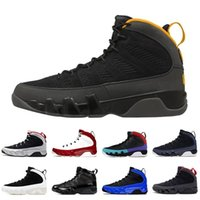 2020 новый релиз Jumpman 9 Университет золота ретро мужская баскетбольная обувь 9s тренажерный зал красный 9 гонщик синий кроссовки космический джем орегон уток тренеров