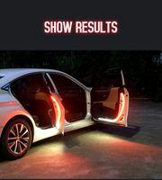 Auto Interno Porta Benvenuto Light LED Sicurezza Avvertimento Stroboscopica Striscia Striscia di segnale 120 cm impermeabile 12V Auto Auto Ambient Lights