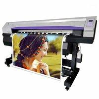 Impresoras digitales de 1.6M Eco Solvent Flex Banner Printer Vinyl PVC Impresora Máquina de académica Impresora de trazador de lona1