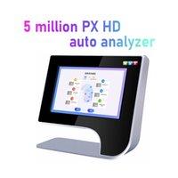 Taşınabilir Ayna Cilt Tarayıcı / 3D Yüz Cilt Analizörü / 10 inç LCD Dokunmatik Ekran Cilt Analizi Test Makinesi Satılık