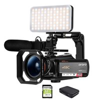 New Video Camera Camcorder 4k Ordro AC5 12x Optical Zoom Filmadora Full HD Camara de Video Vlog Camera for YouTube Videos