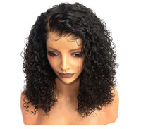 Wave water Curly Lace Front Wig Synthetic Wigs For Black Wom...