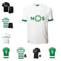 20 21 SPORTING CLUBE DE SPORTING CP Lissabon Fußball-Trikots C.Ronaldo Phellype 2020 2021 B.Fernandes Fußball Hemd dost Männer Kinder Kit Uniform