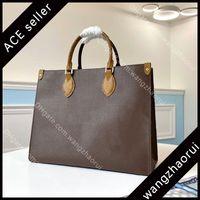 Top Quality OnTheGo Mm sacolas de couro genuíno Saco de compras mulheres mulheres bolsas de ombro bolsas de moda com caixa B069