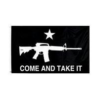 Kommen Sie und nehmen Sie es mitnehmen Flaging 90 * 150cm 3x5 ft Gonzales Banner Texas Flagge USA Banner Flagge CCA2965