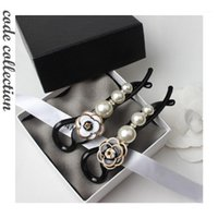 ARRIVÉE HOT ARRIVÉE Coréen Imitation Perle Coiffures Clips Vintage Camélia Simple Camélis Pince à cheveux Luxueux Élégant pour fille Accessoires pour cheveux1