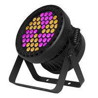 Gigertop Нового 54x3W RGB 3в1 Цвет Водонепроницаемый Led Par свет лампы индивидуального управления Новый алюминиевый корпус DMX 3/7/10 каналов