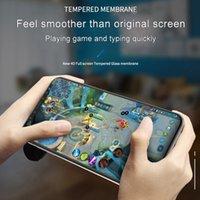 Anti-lugt Iphone 12 11 Pro X XR XS MAX Ausgeglichenes Glas-Clear Displayschutzfolie Anti-Säure-Spiel Nutzung