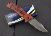 оптовик Benchmade BrowningF69 Flipper Titanium карманный складной нож 440C 57HRC Tactical Кемпинга Охота Выживание ножи EDC инструмент