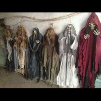 165cm Halloween Hanging-Geist-Geisterhaus Flucht Horror Halloween-Dekorationen Terror Scary Props-Thema-Partei-Tropfen-Verzierung 1pc Y201006