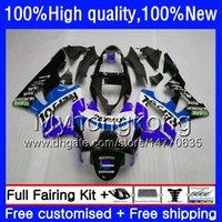 Kit für HONDA CBR 929RR 900 929 RR 00 01 2000 2001 50HM.134 CBR900 RR CBR 900RR 929CC CBR900RR CBR929RR CBR929 RR Repsol blau 00 01 Verkleidungs