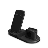 Çok fonksiyonlu üçte bir arada kablosuz şarj cihazı, Apple Cep telefonlarının ve saatlerin dikey kablosuz şarjı için uygundur.
