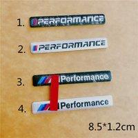 뜨거운 m- 성능 M 전원 85x12mm 모터 스포츠 금속 자동차 스티커 알루미늄 엠블럼 그릴 배지 BMW M M3 M5 E34 E36 E39 자동차 스타일링