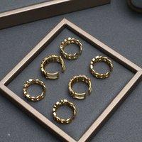 Luxury Female Diseñador Internet Damas Temperamento 2020 Nuevo anillo de letras