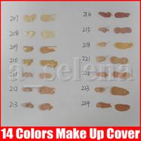 새로운 메이크업베이스 메이크업 커버 극단적 인 덮개 액체 파운데이션 저자 극성 방수 30g 저렴한 피부 컨실러 14 색