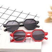 7 couleurs Sunglasses octogonales Unisexe Protection UV Verres de soleil Sport extérieur Sports de soleil Rétro Lunettes de soleil en plein air CCA11717 1PCS