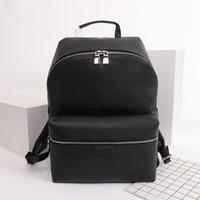 2021 Zaini da uomo Designer Classic Designer per uomini Genuine Pelle Doppia Borsa a tracolla Design PVC Design Design School Backpack Zaino Notebook 30230